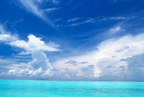 令人心旷神怡超美的海天一线