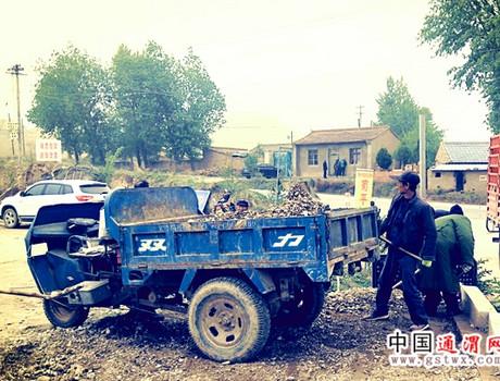 榜罗镇扎实开展农村人居环境综合整治