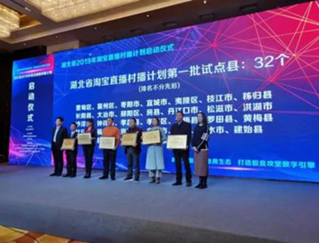 黄梅县电商企业参加2019年湖北省农村电商发展峰会