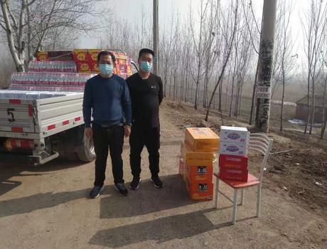 抗疫情现场直击:落垡镇企业家刘春光,张国海慰问值班点工作人员
