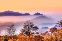 安徽 藏在深山里的最美秋景_马鬃岭