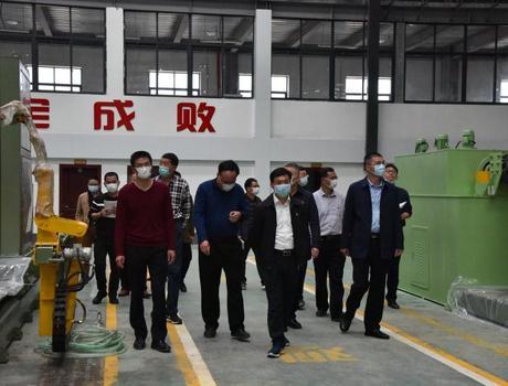 陈荣水调研产业发展和项目建设工作